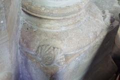 Eglise Saint-Clair-Saint-Léger - Deutsch: Katholische Pfarrkirche Saint-Clair-Saint-Léger in Souppes-sur-Loing im Département Seine-et-Marne in der Region Île-de-France (Frankreich), Eckblatt