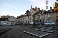 Ancienne maison Clément, actuellement hôtel de ville - English: Moret-sur-Loing, France