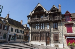 Maison Raccolet -  Maison Raccolet, Moret-sur-Loing (Seine-et-Marne, France)