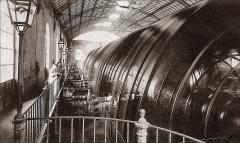 Bâtiments de la machine de Marly (également sur commune de Louveciennes) - English: Marly Machines. Hydraulic Machine of Dufrayer running en 1859.