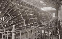 Bâtiments de la machine de Marly (également sur commune de Louveciennes) - English: Marly Machines. Hydraulic Machine of Dufrayer stopped.