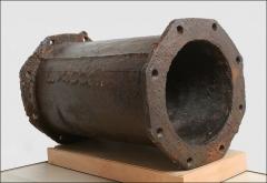 Bâtiments de la machine de Marly (également sur commune de Louveciennes) - English: Marly Machines. Pipe element of the first machine.