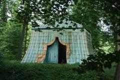 Domaine dit Désert de Retz - English: Tartar tent in the Désert de Retz park in Chambourcy, France