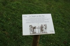Domaine dit Désert de Retz - English: The temple of the Pan god in Désert de Retz park in Chambourcy, France
