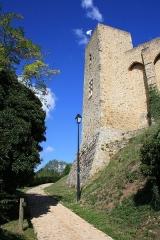 Château de la Madeleine (ruines) - English: Way to Castle Madeleine in Chevreuse, France