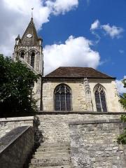 Eglise Saint-Maclou - Français:   Église Saint-Maclou de Conflans-Sainte-Honorine - voir titre.