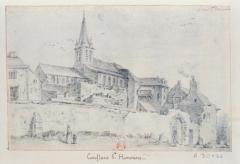 Eglise Saint-Maclou -  Conflans-Sainte-Honorine, vue de l\'église