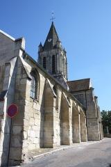 Eglise Saint-Maclou - Deutsch:   katholische Pfarrkirche Saint-Maclou in Conflans-Sainte-Honorine im Département Yvelines (Île-de-France)