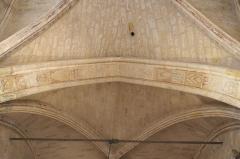 Eglise Saint-Léonard et Saint-Martin - Deutsch: Katholische Kapelle Saint-Léonard, ehemalige Pfarrkirche, in Croissy-sur-Seine im Département Yvelines (Île-de-France/Frankreich), Malerei am Triumphbogen