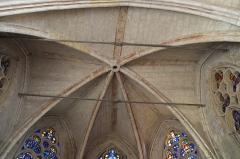 Eglise Saint-Léonard et Saint-Martin - Deutsch: Katholische Kapelle Saint-Léonard, ehemalige Pfarrkirche, in Croissy-sur-Seine im Département Yvelines (Île-de-France/Frankreich), Schlussstein