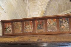Eglise Saint-Léonard et Saint-Martin - Deutsch: Katholische Kapelle Saint-Léonard, ehemalige Pfarrkirche, in Croissy-sur-Seine im Département Yvelines (Île-de-France/Frankreich), Serie von 14 gotischen Tafelbildern aus dem 15. Jahrhundert an der Empore, Bonifacio Bembo zugeschrieben