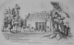 Ancien château de Madame du Barry - Français:   Photo d\'une page de la revue Le Tour de France, première année, 1880