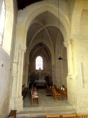 Eglise Saint-Martin -  Intérieur de l'église (voir titre).