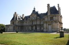 Mur d'enceinte du château : vestiges - English: Maisons castle in Maisons-Laffitte, France.
