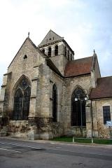 Eglise Sainte-Anne-de-Gassicourt -  Église Sainte-Anne de Gassicourt à Mantes-la-Jolie - Yvelines (France)