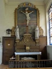 Eglise Saint-Etienne - Saint-Vigor -  Mobilier de l'église (voir titre).