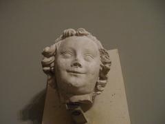 Abbaye - English:  Head of an angel