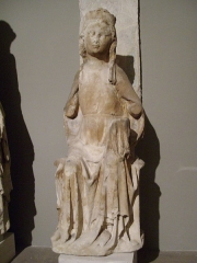 Abbaye - English:  Virgin and the Chils seated