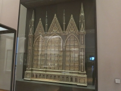 Abbaye - English: Poissy's reredo - Overview. Louvre museum (Paris, France).