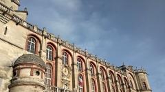 Domaine national de Saint-Germain-en-Laye, actuellement Musée des Antiquités Nationales - Français:   Le château de Saint-Germain-en-Laye, appelé aussi «Château-Vieux», est une ancienne résidence des rois de France. Il a été le lieu de signature de nombreux traités de paix et d\'édits royaux.