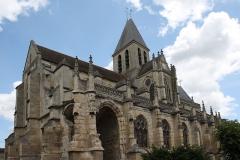 Eglise Saint-Martin - Deutsch: Katholische Pfarrkirche Saint-Martin in Triel-sur-Seine im Département Yvelines (Île-de-France/Frankreich), Ansicht von Südwesten