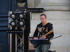 Cathédrale Saint-Louis - English:   Concert by Glorious at Versailles\' cathedral (Yvelines, France).
