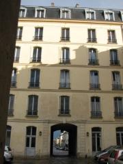 Domaine national : Hôtel des Réservoirs ou Hôtel de Pompadour - English: Hôtel des Réservoirs, in Versailles (France)