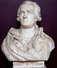 Domaine national : Salle du Jeu de Paume -  Buste de Jean-Paul Rabaut Saint-Étienne -- Salle du serment du jeu de paume -- Versailles