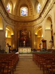 Eglise Notre-Dame -  Choeur de l'église Notre-Dame de Versailles (72).