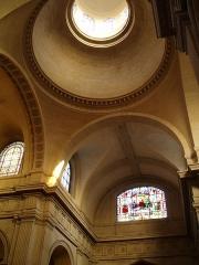 Eglise Notre-Dame -  Croisée du transept de l'église Notre-Dame de Versailles (78).