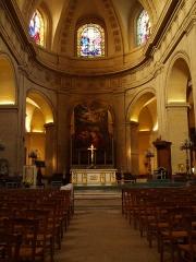 Eglise Notre-Dame -  architecte: Jules Hardouin Mansart   construction: 1684 - 1686