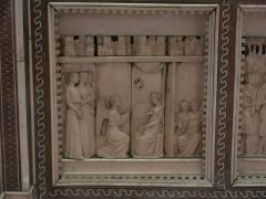 Propriété des Meissonnier - English: Poissy's reredo - The Annunciation. Louvre museum (Paris, France).