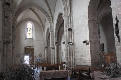 Eglise Notre-Dame-de-l'Assomption - Deutsch: Katholische Pfarrkirche Notre-Dame-de-l'Assomption (Mariä Himmelfahrt) in Boigneville im Département Essonne (Île-de-France/Frankreich), Innenraum