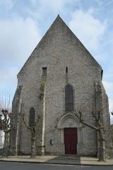 Eglise Notre-Dame-de-l'Assomption - Deutsch: Katholische Pfarrkirche Notre-Dame-de-l'Assomption (Mariä Himmelfahrt) in Boigneville im Département Essonne (Île-de-France/Frankreich), Westfassade
