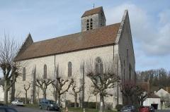Eglise Notre-Dame-de-l'Assomption - Deutsch: Katholische Pfarrkirche Notre-Dame-de-l'Assomption (Mariä Himmelfahrt) in Boigneville im Département Essonne (Île-de-France/Frankreich), von Süden
