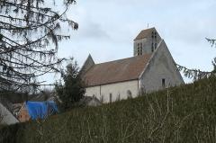 Eglise Notre-Dame-de-l'Assomption - Deutsch: Katholische Pfarrkirche Notre-Dame-de-l'Assomption (Mariä Himmelfahrt) in Boigneville im Département Essonne (Île-de-France/Frankreich), von Südosten