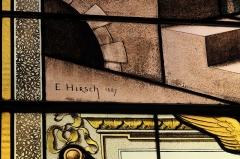Eglise Saint-Médard - Deutsch: Bleiglasfenster in der katholischen Pfarrkirche Saint-Médard in Brunoy im Département Essonne (Île-de-France/Frankreich), zwischen 1885 und 1896 von Émile Hirsch ausgeführt; Signatur: E. HIRSCH 1887