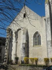 Eglise Saint-Basile - Français:   Chevet du collatéral sud.