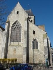 Eglise Saint-Basile - Français:   Chevet.