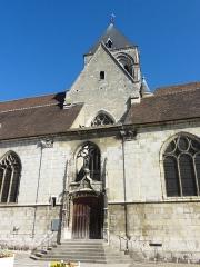 Eglise Saint-Basile - Français:   Clocher et portail sud.