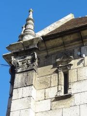 Eglise Saint-Basile - Français:   Collatéral sud, angle sud-ouest.