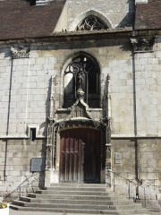 Eglise Saint-Basile - Français:   Portail du croisillon sud.