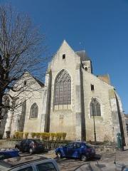 Eglise Saint-Basile - Français:   Vue depuis l\'est.