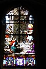 Eglise Saint-Etienne - Deutsch: Bleiglasfenster in der Kirche Saint-Étienne in Étréchy im Département Essonne (Île-de-France), Darstellung:?