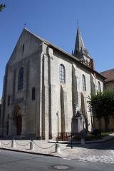 Eglise Notre-Dame - Deutsch:   Kirche Notre-Dame-de-l\'Assomption in La Ferté-Alais im Département Essonne (Île-de-France)