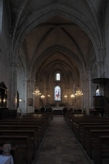 Eglise Notre-Dame - Deutsch:   Katholische Pfarrkirche Notre-Dame-de-l\'Assomption in La Ferté-Alais im Département Essonne (Île-de-France/Frankreich), Innenraum