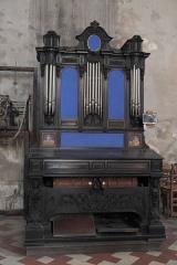 Eglise Notre-Dame - Deutsch:   Katholische Pfarrkirche Notre-Dame-de-l\'Assomption in La Ferté-Alais im Département Essonne (Île-de-France/Frankreich), Chororgel