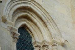 Eglise Saint-Martin - Deutsch: Katholische Pfarrkirche Saint-Martin in Longjumeau im Département Essonne (Île-de-France/Frankreich), gotisches Archivoltenfenster