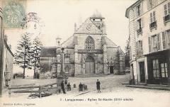 Eglise Saint-Martin - English: The catholic church of Saint Martin of Tours in Longjumeau, Essonne, France.