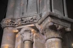 Eglise Saint-Martin - Deutsch: Katholische Pfarrkirche Saint-Martin in Longjumeau im Département Essonne (Île-de-France/Frankreich), Säulen und Kapitelle